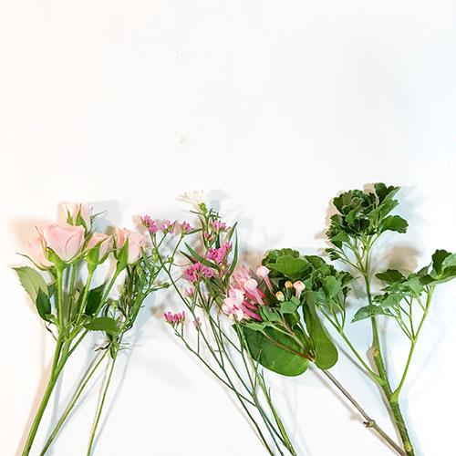 Flowerから届いたお花