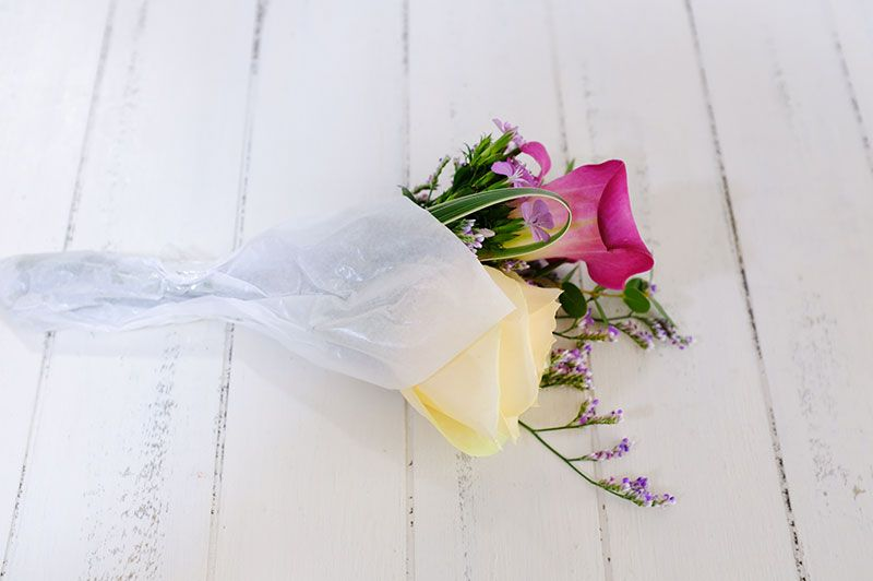 WEEKLY FLOWERから届いた花