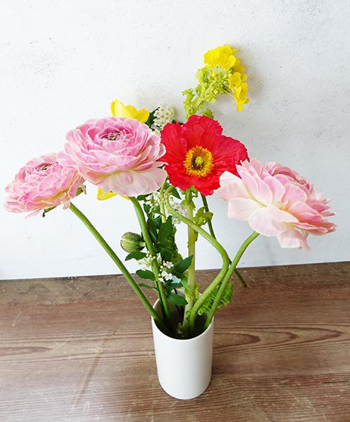 HitoHana花の定期便で届いた花