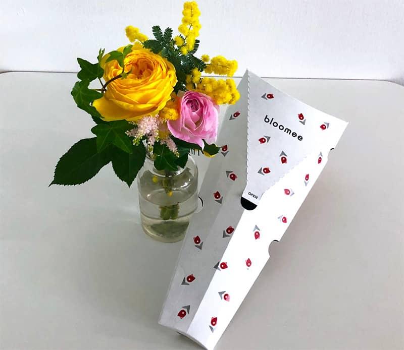 ブルーミー お花とパッケージ