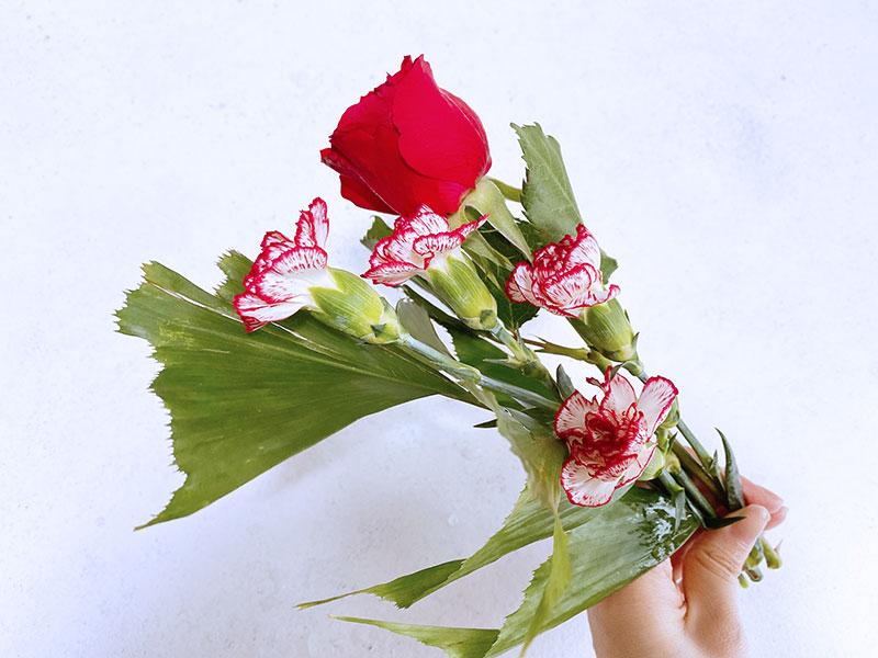 ブルーミーから届いた花